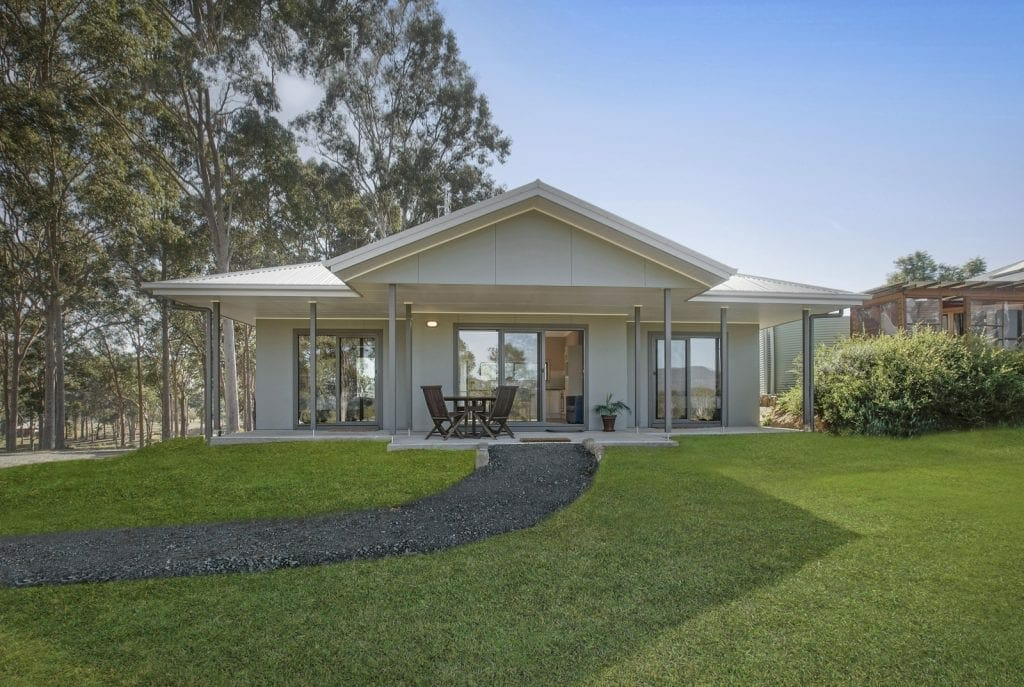 Millfield granny flat exterior: granny flat prices guide
