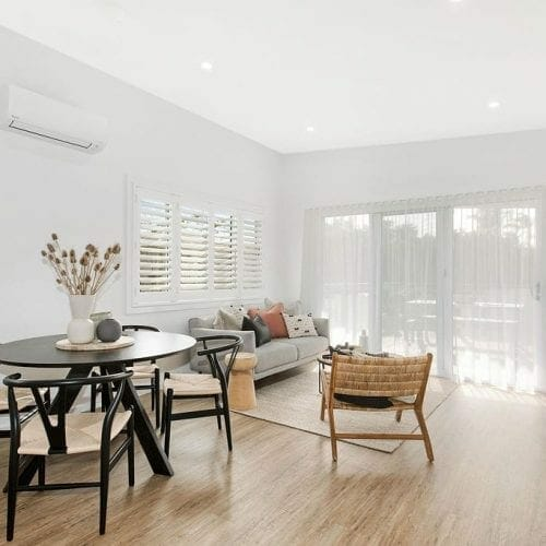 Caves Beach Granny Flat Living Space