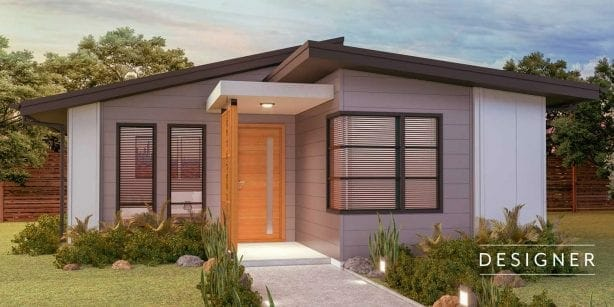 The Silverdale granny flat design.