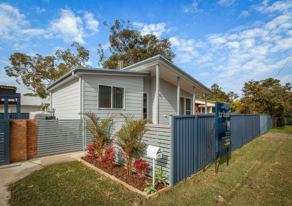 The Killarney Vale granny flat from the street
