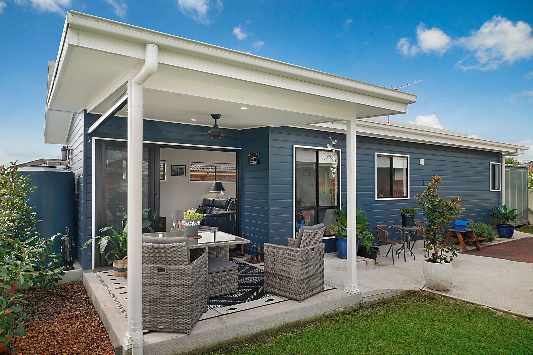 Custom Built One Bedroom Granny Flat In Rutherford
