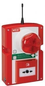 WES3 Strobe and sounder call point