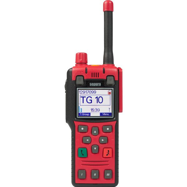 Sepura STP8X140 Portable 1.8W 407-473MHz  Inc GPS (radio Only), No Encryption, Man-Down Capable, Colour Display