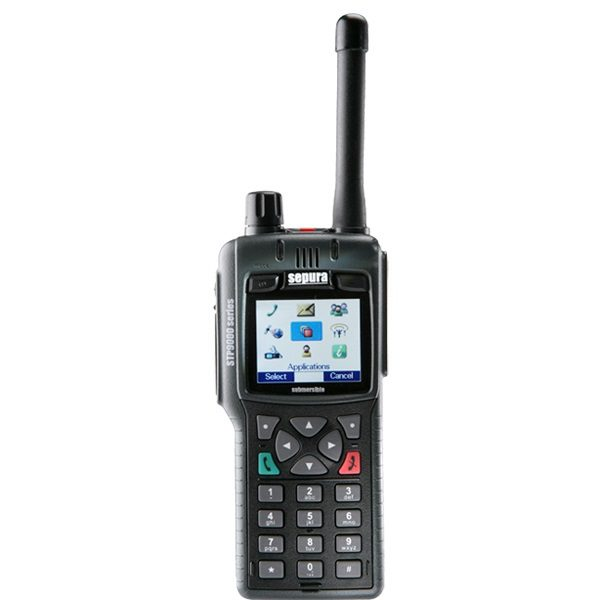 Sepura STP9080 Portable 800MHz Inc GPS IP67 (radio Only), Man-Down Capable