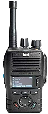 Entel DX485U Portable Package UHF 80CB/DMR 163Ch Capable 450-520Mhz IP68 Submersible  Inc CNB450E Battery, CAT480 Antenna & Charger