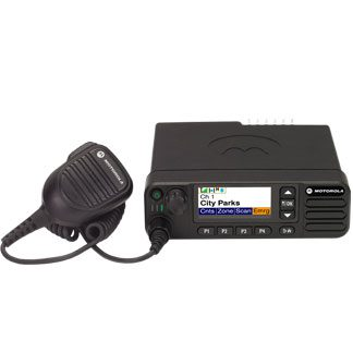 Motorola DM4600e Mobile VHF 136-174MHz Colour Display With Mic, Cradle & Pwr Lead
