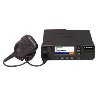 Motorola DM4601e Mobile UHF 450-527MHz Colour Display With Mic, Cradle Pwr Lead Gob & GPS/bluetooth