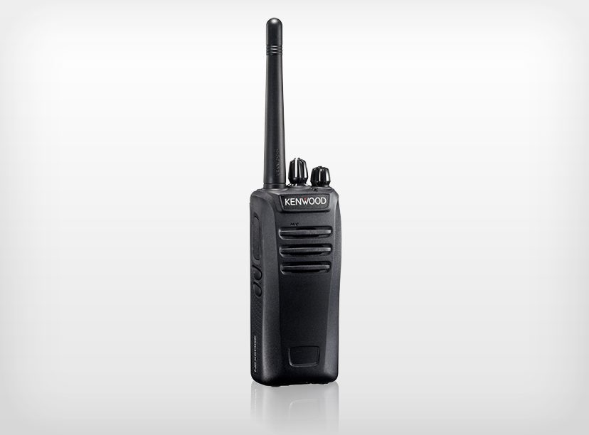Kenwood NX-240M Portable VHF 136 – 174MHz, 32ch. 2 Zones 1 – 5 Watts with Belt Clip (List Required Antenna Separately)