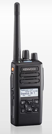 Kenwood NX-3300K2 Portable UHF 400-520MHz 260ch / 128 Zones LCD Display & 4 Way D-Pad (List Required Antenna Separately)