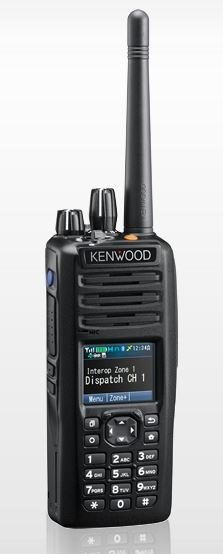 Kenwood NX-5200 P25 Portable VHF 136-174MHz Digital, Full Keypad, Belt clip (List Required Antenna Separately)