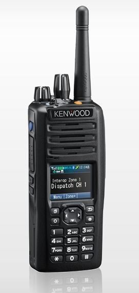 Kenwood NX-5300 K6 P25 Portable UHF 380-470MHz Digital, Full Keypad, Belt clip (List Required Antenna Separately)
