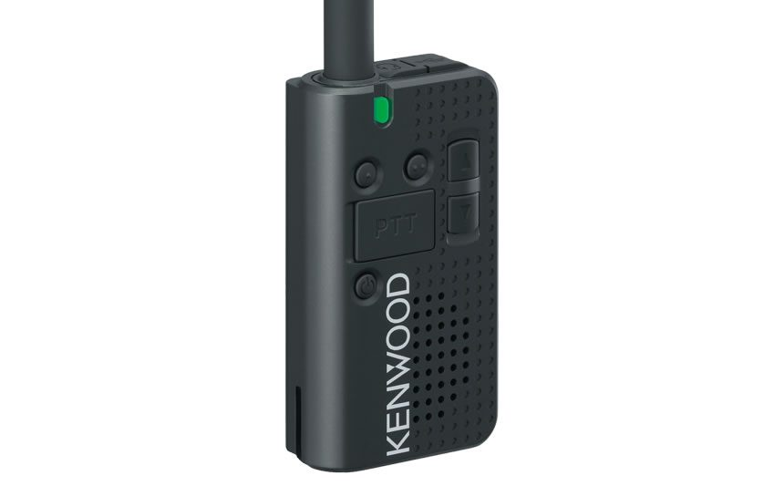 Kenwood PKT-23X Portable UHF CB 1.5w 80ch c/w Antenna, KNB-71L Battery & Micro USB Charging Cable