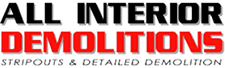 All Interior Demolitions Logo