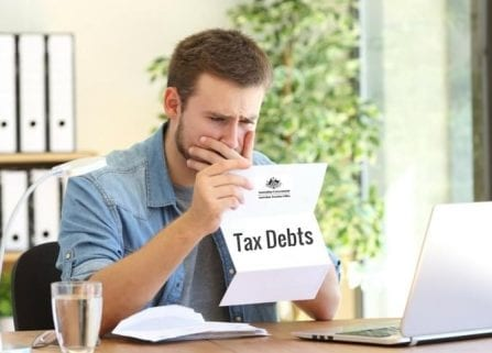 If your business has a tax debt, it could end up appearing on your credit rating.