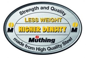 Muthing Mulcher Strength And Quality Logo